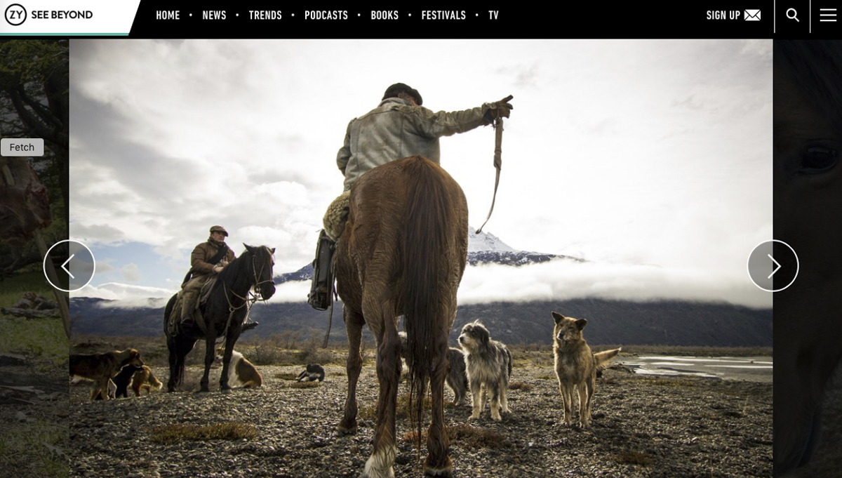 OZY cowboys in Chilean Patagonia